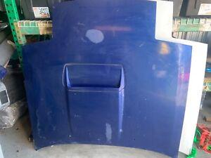 Blue Turbo II  Hood 86-91 FC3S Mazda RX7 Bonnet Steel