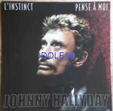 Disques vinyles maxi 45 tours Johnny Hallyday