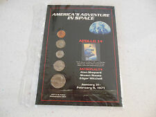 AMERICA' S ADVENTURE IN SPACE APOLLO 14 1971 U.S. COINS AND STAMP COLLECTION