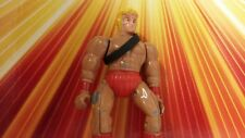 Vintage Treasures of the Temple Warriors Metal Masters Of Universe Knock Off 80s