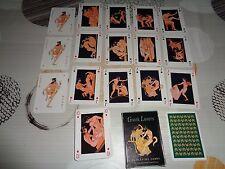 Jeu de 52 cartes érotique + 2 jokers  'GREEK LOVERS'