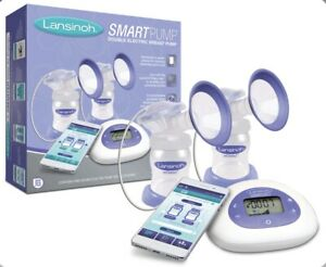 Lansinoh SmartPump Double Electric Breast Pump with Bluetooth.  NEW WITHOUT TAGS