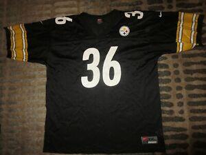 Jerome Bettis #36 Pittsburgh Steelers NFL Nike Football Jersey 2XL XXL Rookie