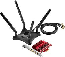ASUS 4x4 802.11AC Wireless-AC3100 PCIe Adapter (PCE-AC88)