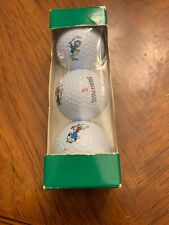 3 Disney Spalding Cut Proof Distance Golf Balls Mickey Mouse NEW
