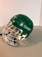 Green COOPER SK 600 with Cooper VL50 Face mask Vintage Ice Hockey