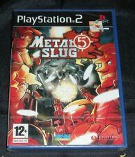METAL SLUG 5  PS2 PRECINTADO NUEVO