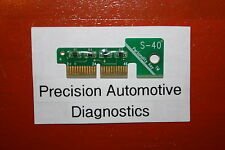 S-40 Personality Key for Snap-on Scan Tool MT2500 MTG2500 MODIS SOLUS Pro VERUS