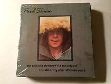 """Paul Simon Me & Julio By The Schoolyard/Still Crazy After These Years 7"""" & Tee"""