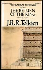 VINTAGE FANTASY - J R R Tolkien THE RETURN OF THE KING (1978) LORD OF THE RINGS