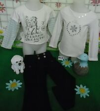 vêtements occasion fille 4 ans,sweat OKAIDI,pantalon,sweat