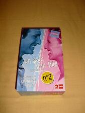 Un Gars Une Fille n°2 VHS coffret 2xK7 Jean Dujardin Alexandra Lamy
