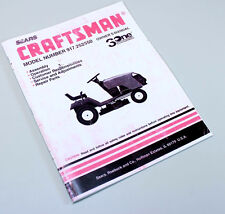 craftsman eager 1 55 manual