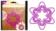 3pc Star set Die Lot Wafer Thin Metal Cut & Embossing Stencil Die Cut Crafts JOY
