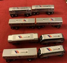 Munipals Wooden Railway Train New Jersey Transit NJT Comet V Commuter, Thomas