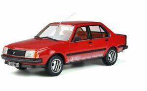 OTTO MOBILE 849 RENAULT 18 Turbo resin model road car red body Ltd Ed 1981 1:18