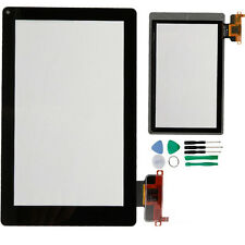 OEM Kindle Fire Front Panel Touch Glass Screen Digitizer Parts Repair + 8 Tools