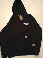 EMINEM E13 CARHARTT ANVIL HOODIE EXTRA LARGE XL BLACK FRIDAY PRIDE UNLIMITED