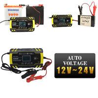 Intelligentes Batterieladegerät EU 12/24V 150Ah Batterieerhaltungsgerät KFZ Auto