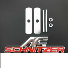 Decal Badge Sticker power drive x s e Black AC SCHNITZER Metal Grille Emblem