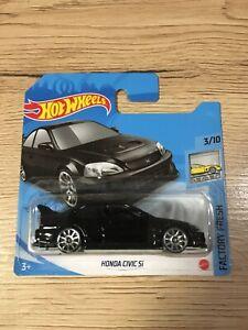 HOT wheels Honda Civic Si noir