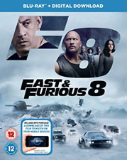 Fast And Furious 8 Bd (UK IMPORT) DVD [REGION 2] NEW