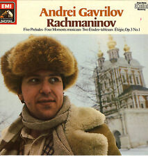 LP Andrei Gavrilov - Rachmaninov - Five Preludes - Four Moments musicaux u. a.