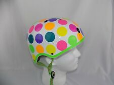 M-cro Bike Bicycle Cycling Scooter Skater Safety Kids Protect Helmet Polka Dot