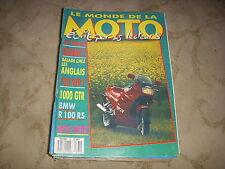 LE MONDE DE LA MOTO 161 08.1988 HONDA 750 VFR KAWA 1000 GTR BMW R 100 RS QUERCY