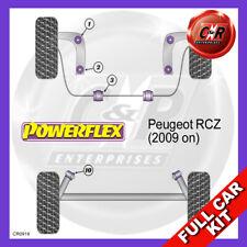 Peugeot RCZ (2009-on)  Powerflex Complete Bush Kit