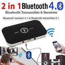 Adaptador Música alta receptor transmisor Inalámbrico Bluetooth 2 en 1 aux RCA