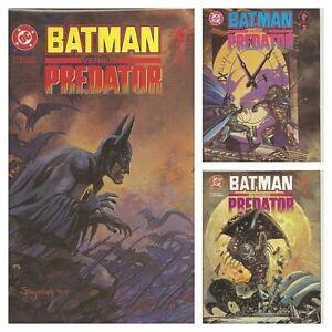 °BATMAN versus PREDATOR I bis 3 von 3 PRESTIGE FORMAT° US DC 1991 Dave Gibbons
