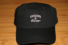 Crooks and Castles Cocaine   Caviar Dad Hat Strapback Cap Black Pink Brand  New aa8c8d031a78
