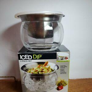 Prodyne Dips on Ice™ Bowl 3 Piece Set