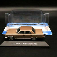 1:43 IXO Altaya IKA Rambler Ambassador 1965 Diecast Models Toys Car Gift