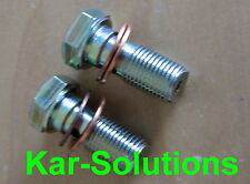 MG Rover 2 Off Brake Hose Banjo Bolt and Washers 25 45 ZR ZS MGZS MGZR MGTF MGF