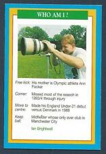 A QUESTION OF SPORT-1996-SOCCER-MANCHESTER CITY-IAN BRIGHTWELL