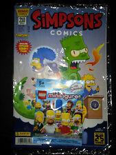 SIMPSONS (deutsch) # 210 VARIANT mit LEGO Mini-Figur 71005 - PANINI 20014 - OVP