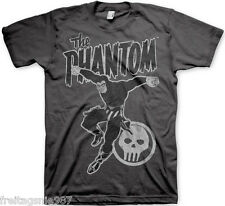 THE PHANTOM JUMP Distressed T-Shirt  camiseta cotton officially licensed