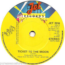 """ELECTRIC LIGHT ORCHESTRA - Ticket To The Moon (UK 2 Tk 1981 7"""" Single)"""