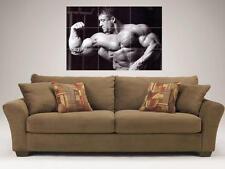 "Dorian Yates MOSAICO 35 ""x25"" pollici poster muro Bodybuilding"