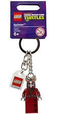 LEGO Teenage Mutant Ninja Turtles TMNT Splinter Keychain #850838 - RARE!!!