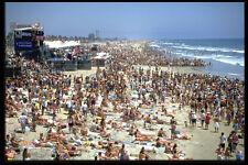 300093 Surf Contest multitud Huntington Beach California A4 Foto Impresión