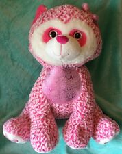 Jumbo PLUSH Pink RACCOON 28 Inch PLUSH Huggable Stuffed Animal by Hug Fun Intl.