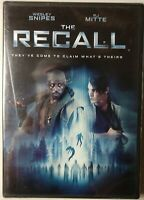 The Recall (DVD, 2017) Wesley Snipes, RJ Mitte BRAND NEW & SEALED