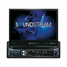 "Soundstream VR-720B DVD/CD Player Flip Up 7"" LCD Bluetooth SD USB AUX,1 Din NEW!"