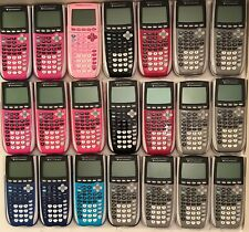 Texas Instruments TI-84 Plus Silver Edition Graphing Calculator Pink, Blue, More