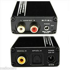 DAC convertitore digitale TOSLINK coassiale SMSL SD-192 PRO OTTICO 24 bit 192KHz