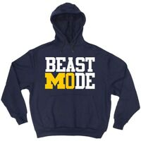 Mo Wagner Michigan Wolverines March Madness Final Four HOODIE HOODED SWEATSHIRT