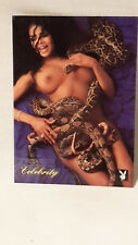 Playboy`s Celebrity Card Latoya Jackson    #1LJ  Playboy 1994